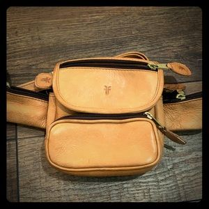 EUC Frye Leather Tan Belt Bag